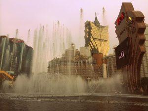 макао фонтаны
