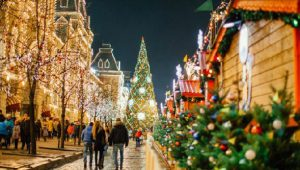 На площадки фестиваля «Путешествие в Рождество