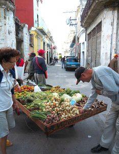 еда на Кубе