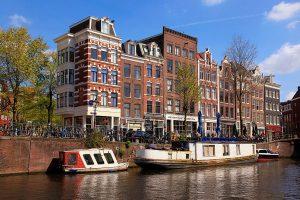 Район Йордан Места Амстердам Нидерланды