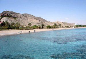Южный пляж, Акаба, Иордания