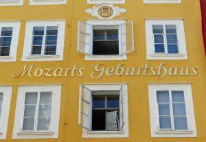 Зальцбург Моцарта